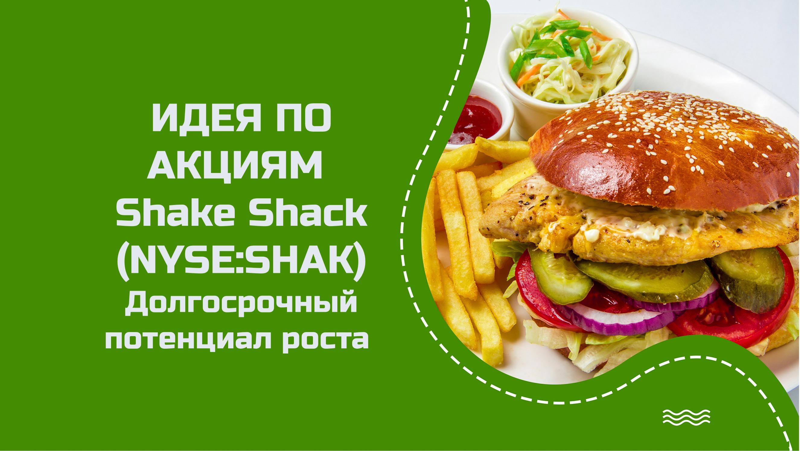 Торговая идея по акциям Shake Shack